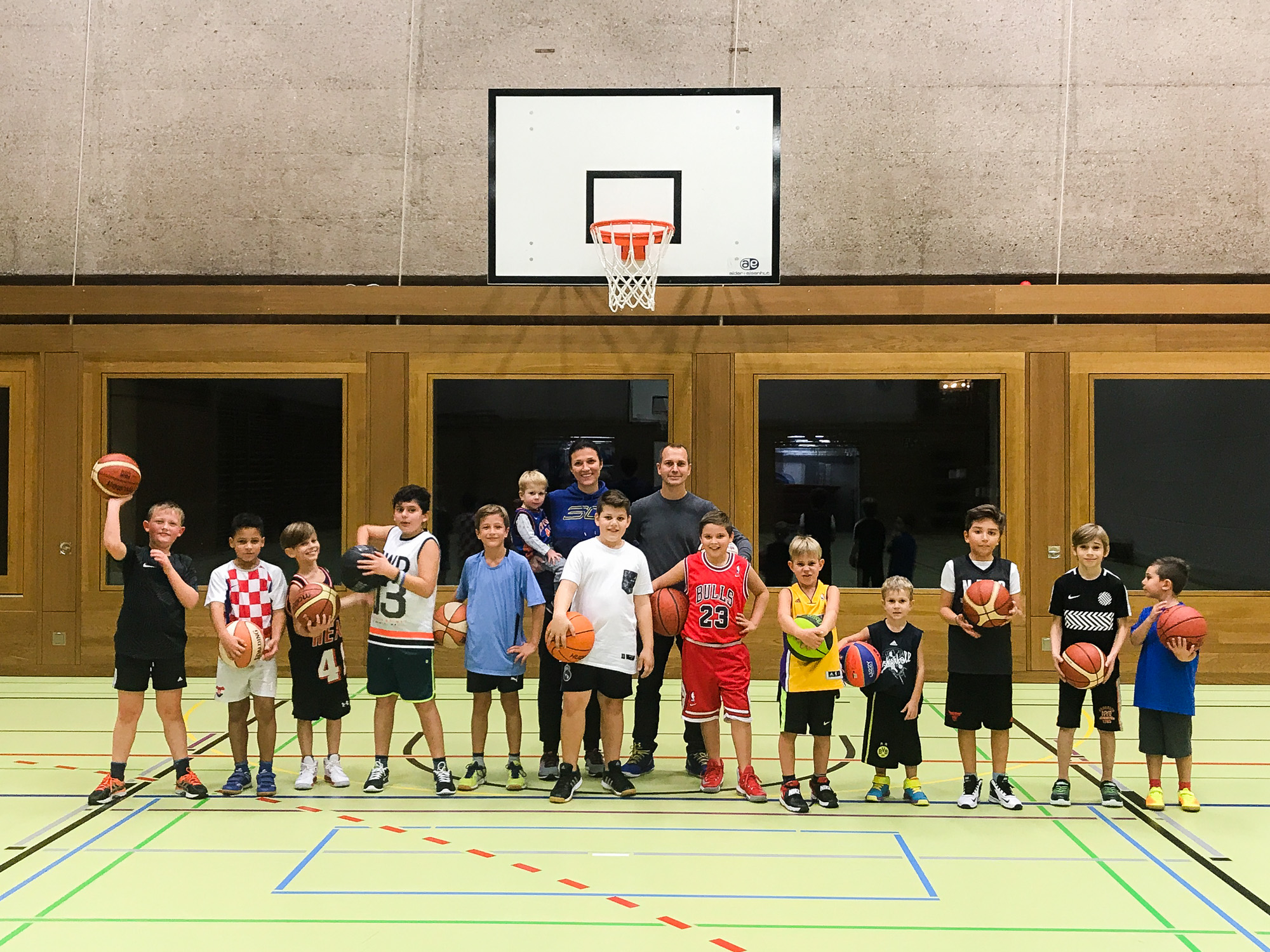 Basketball Kreuzlingen Team U11 01
